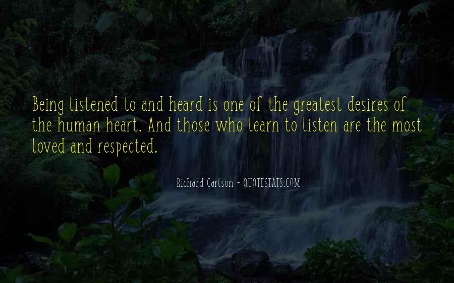 Human Desires Quotes #1517411