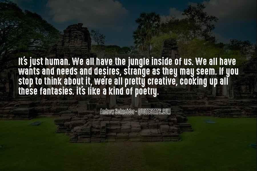 Human Desires Quotes #1529650