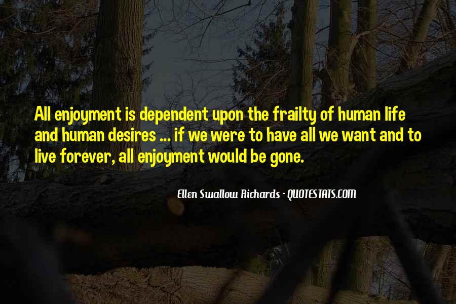 Human Desires Quotes #1546693