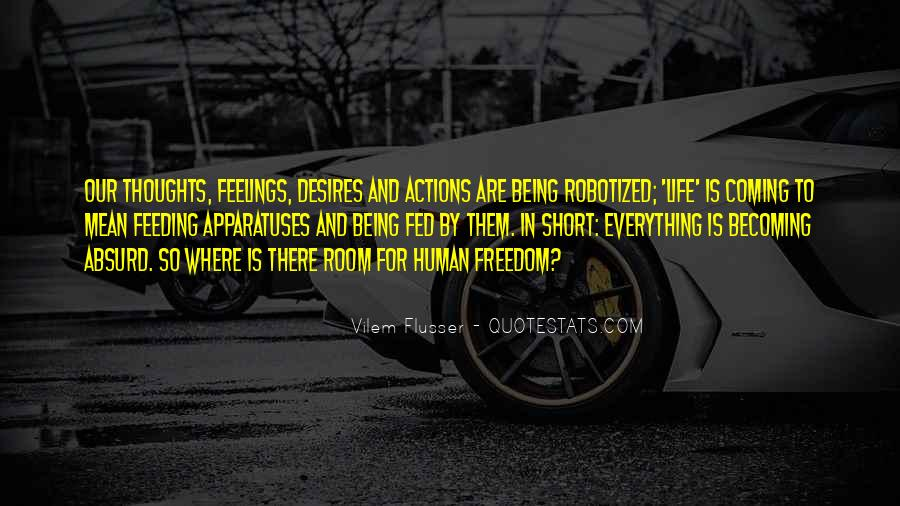Human Desires Quotes #1553393
