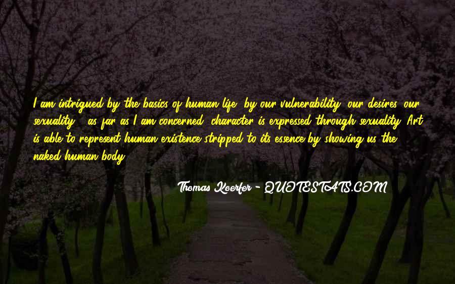 Human Desires Quotes #169355