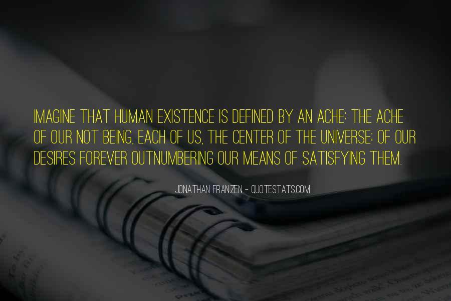 Human Desires Quotes #183645