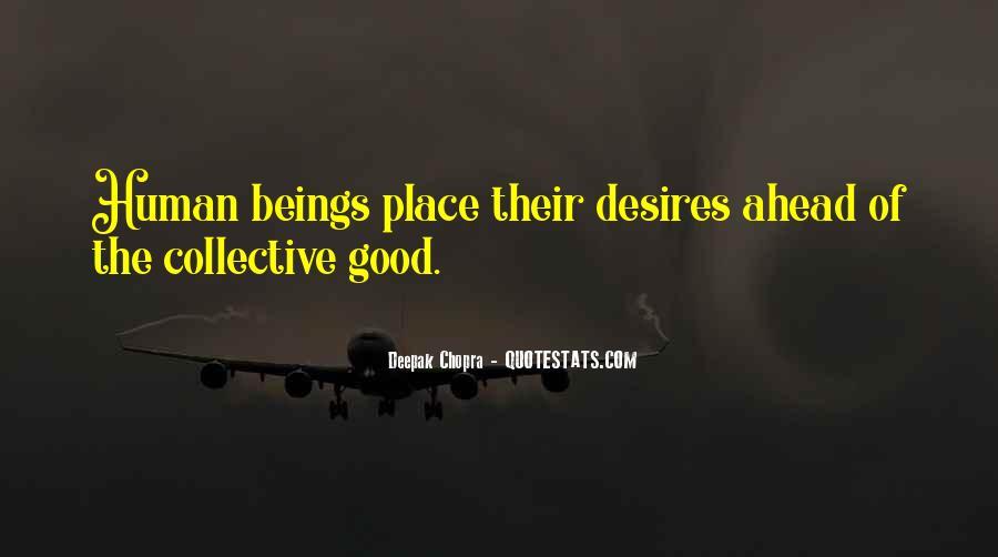 Human Desires Quotes #246475