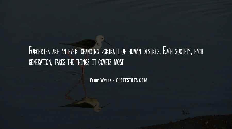 Human Desires Quotes #342912