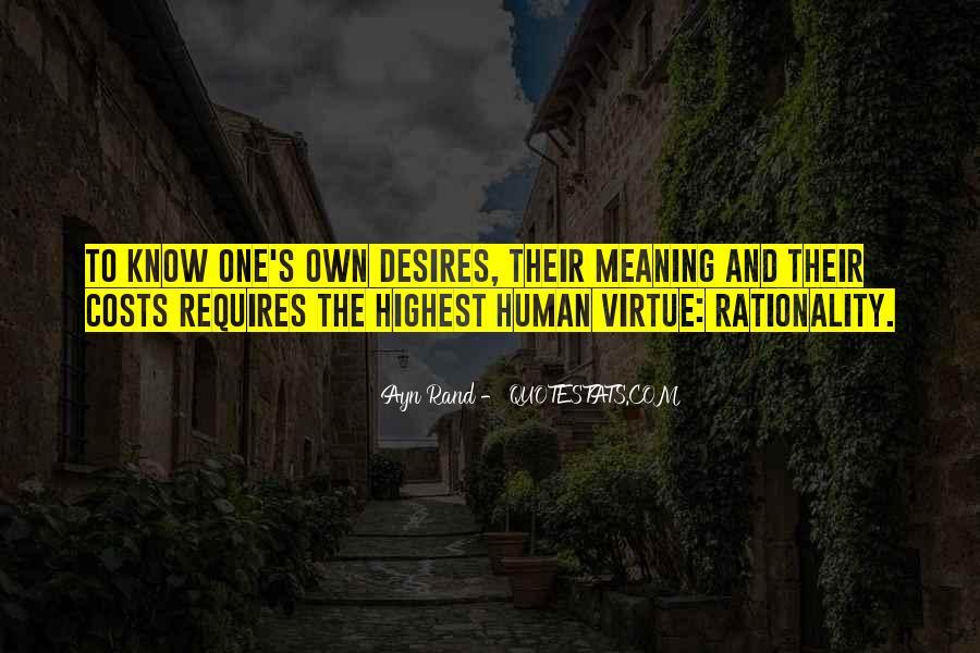 Human Desires Quotes #351679