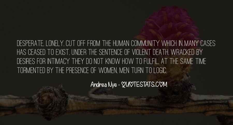 Human Desires Quotes #406254