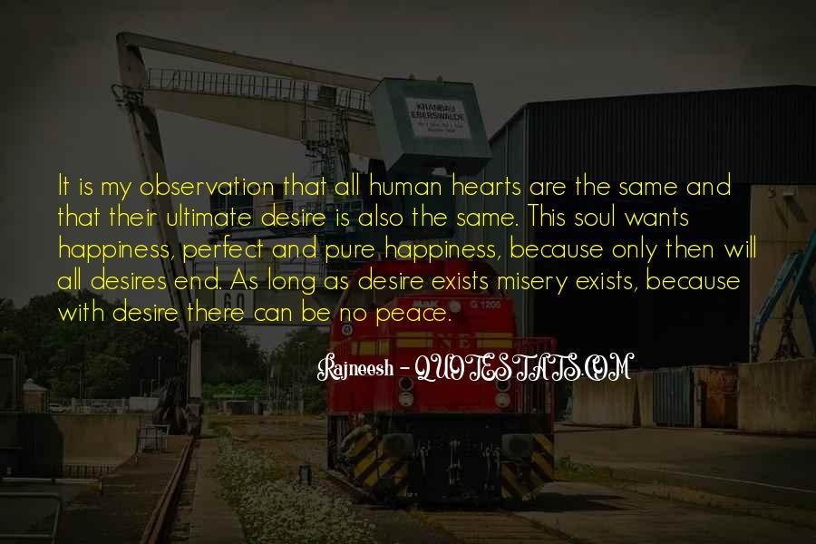 Human Desires Quotes #492577