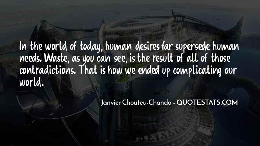 Human Desires Quotes #631388