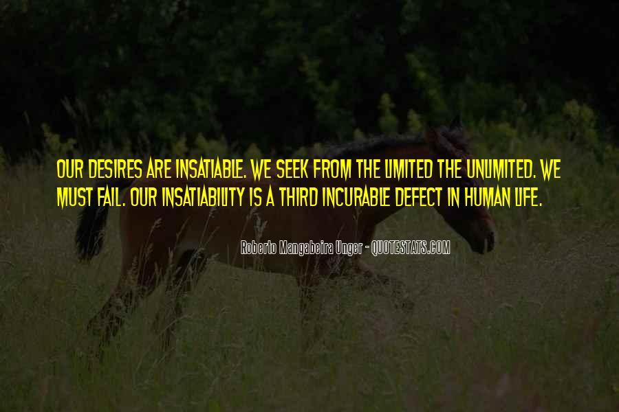 Human Desires Quotes #655815