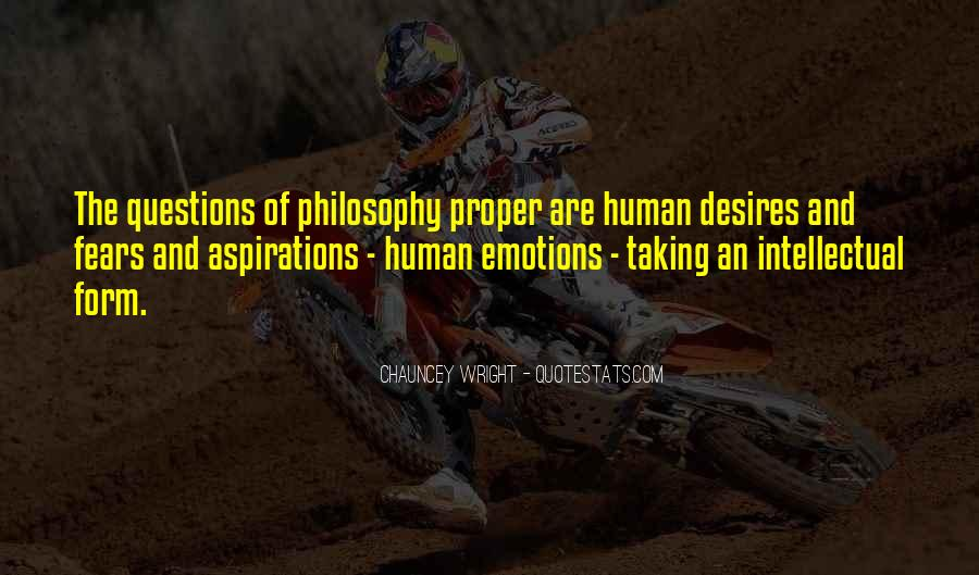 Human Desires Quotes #716113