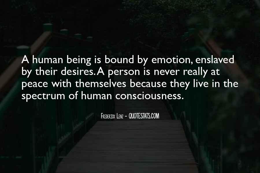 Human Desires Quotes #798346