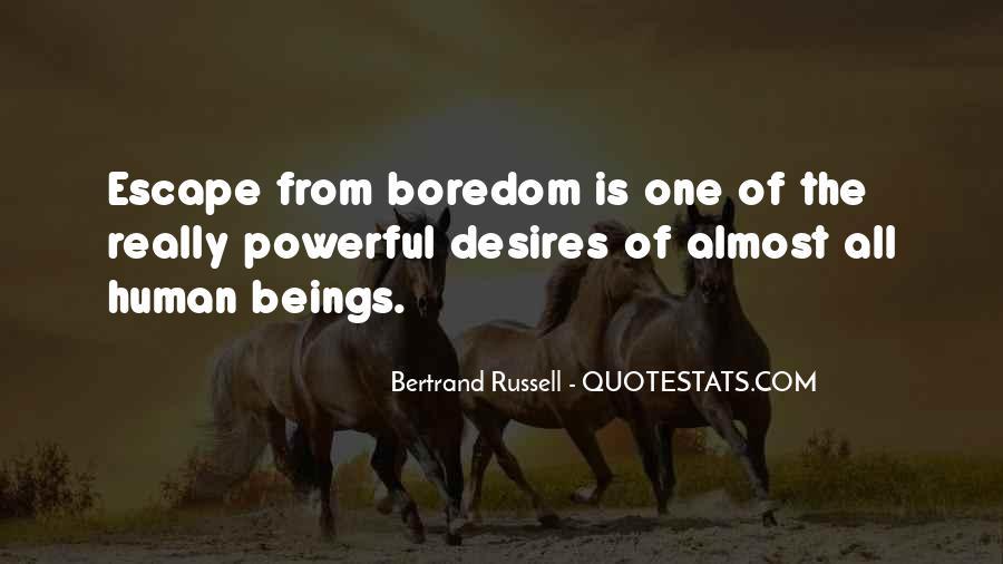 Human Desires Quotes #82546