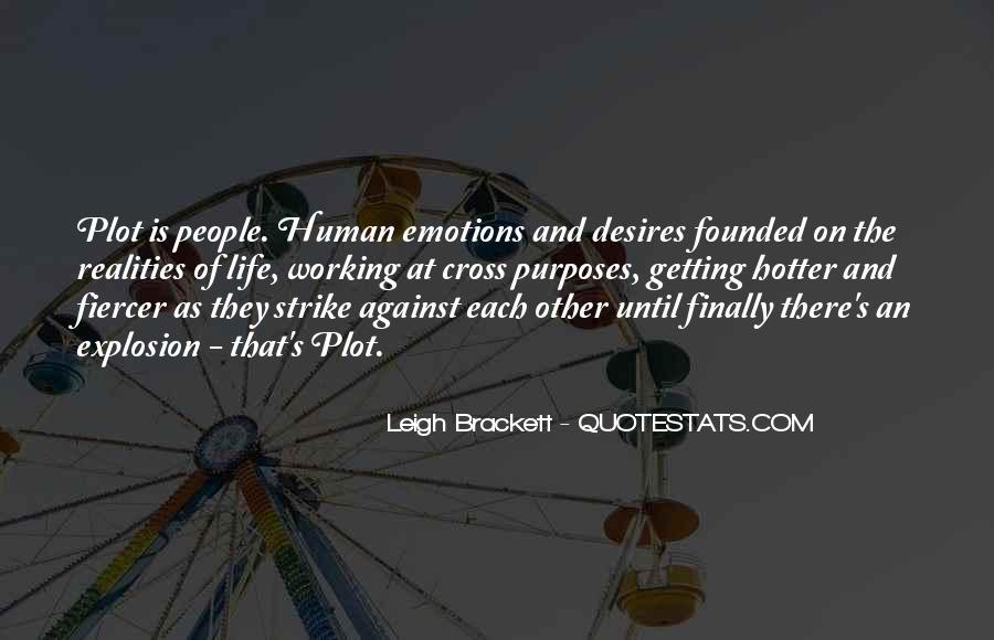 Human Desires Quotes #86468