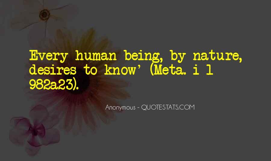 Human Desires Quotes #902461