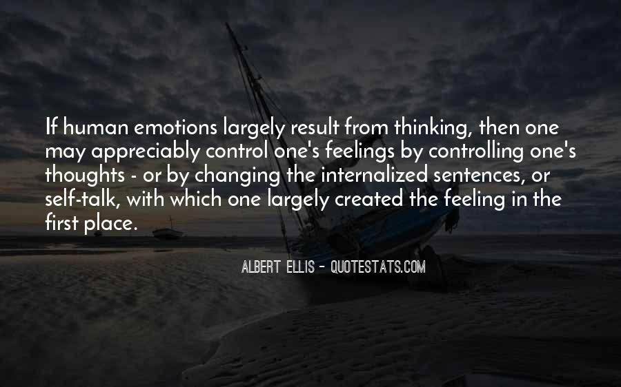 Human Feelings And Emotions Quotes #1034858