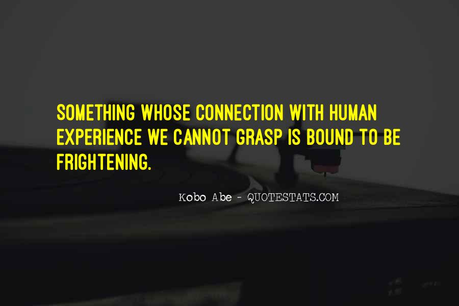 Human Nature Connection Quotes #1871029