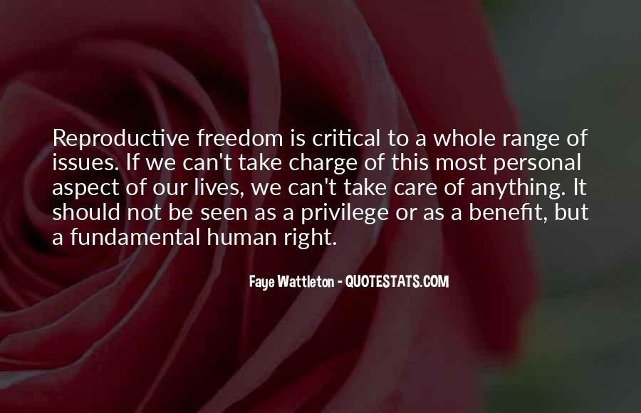 Human Reproductive Quotes #199687