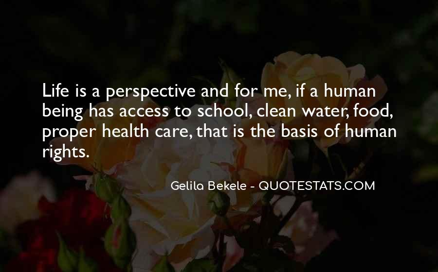 Human Right To Life Quotes #15724