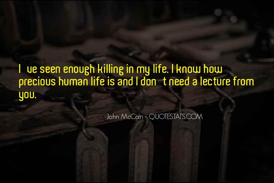 Human Right To Life Quotes #21921