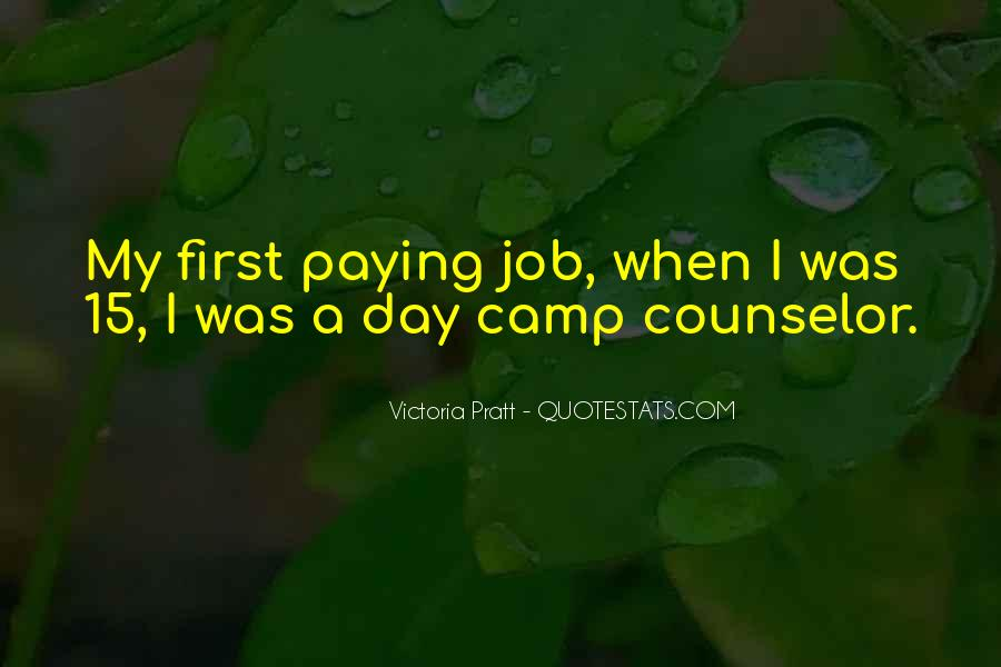 Quotes About First Day On The Job #113725