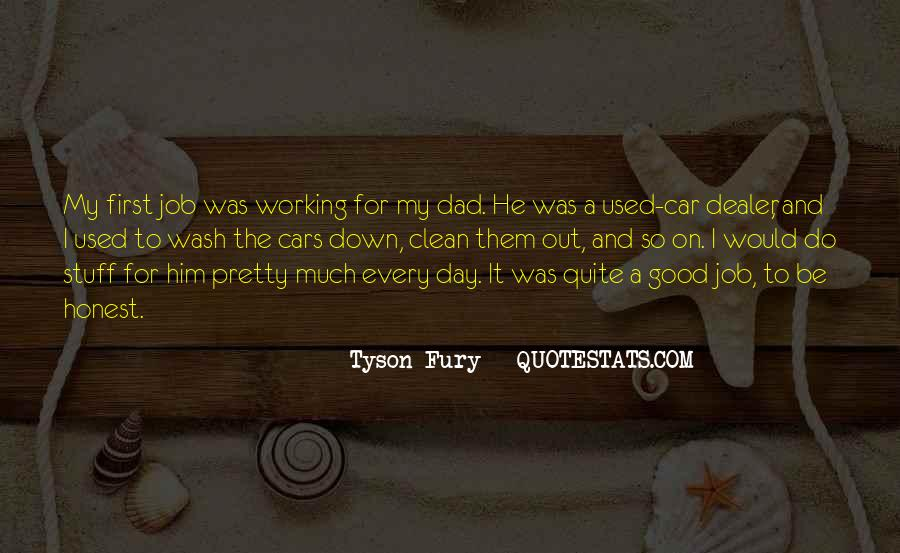 Quotes About First Day On The Job #1270329