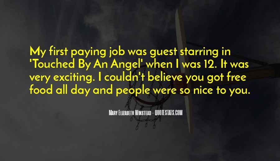Quotes About First Day On The Job #403401