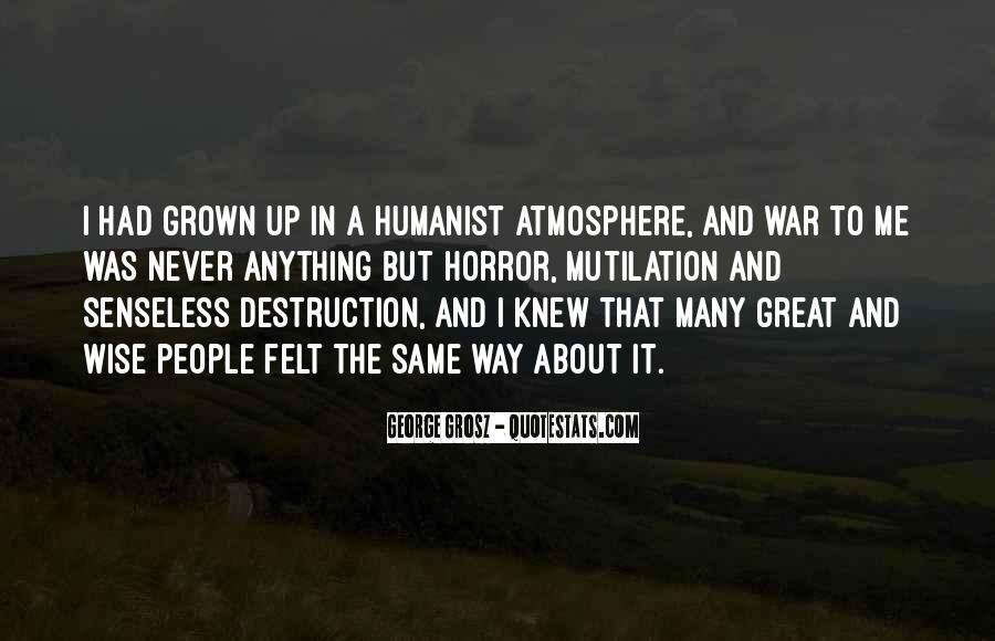 Humanist Quotes #1032170