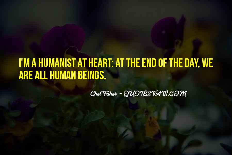 Humanist Quotes #1075983