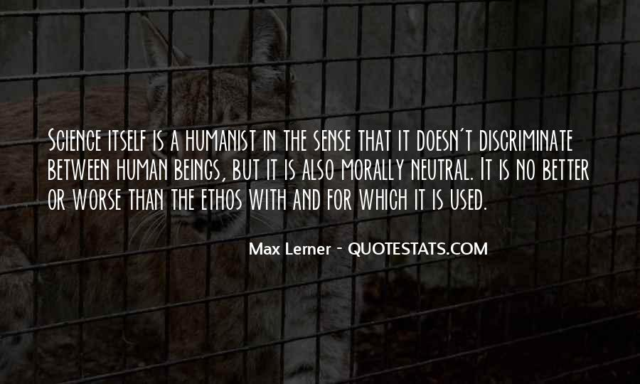 Humanist Quotes #1100512