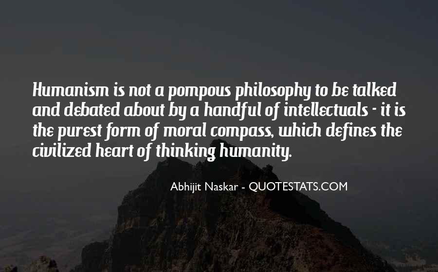 Humanist Quotes #1114646