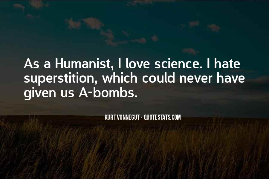 Humanist Quotes #555096
