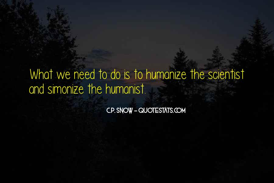Humanist Quotes #69715