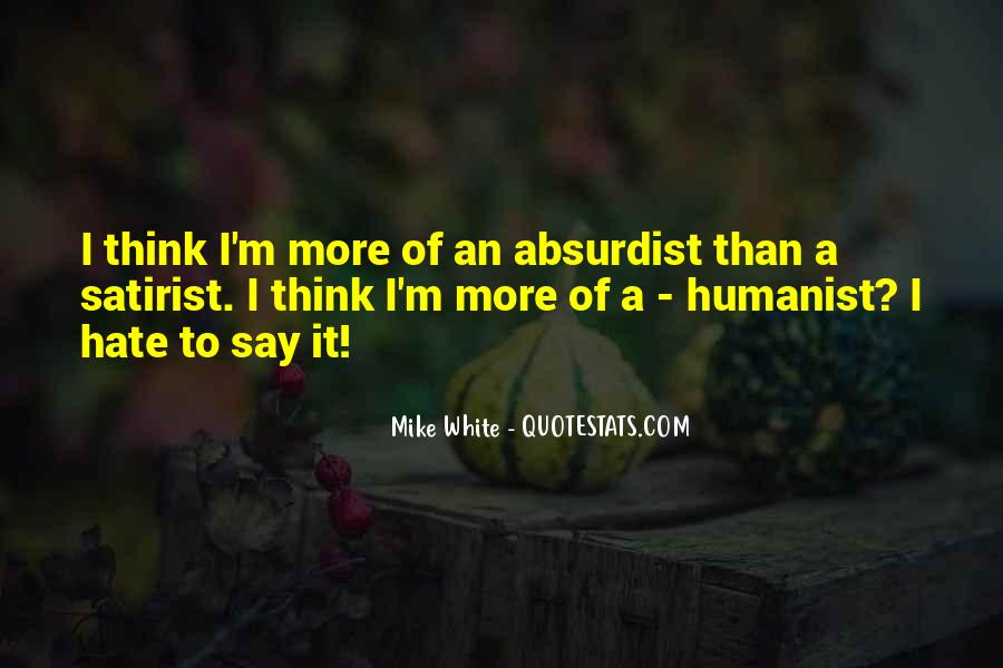 Humanist Quotes #808823