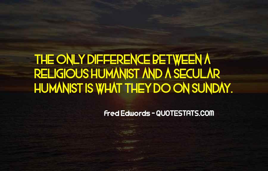 Humanist Quotes #871521