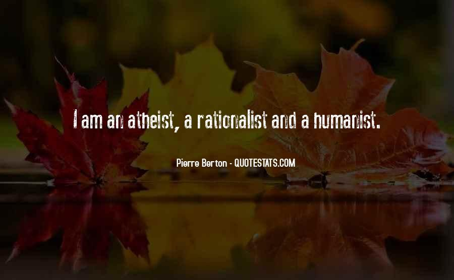 Humanist Quotes #88990