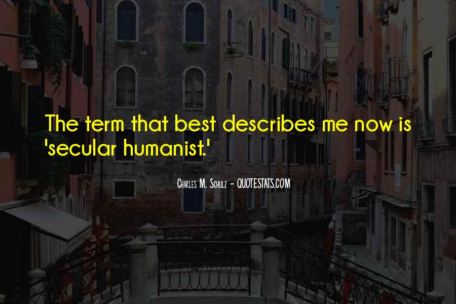 Humanist Quotes #957413