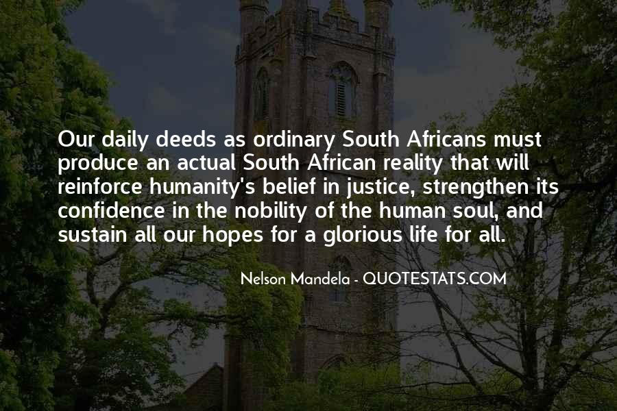 Humanity At Its Best Quotes #3158