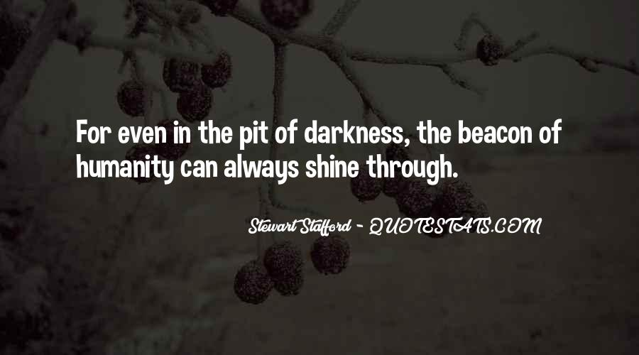 Humanity At Its Best Quotes #4090