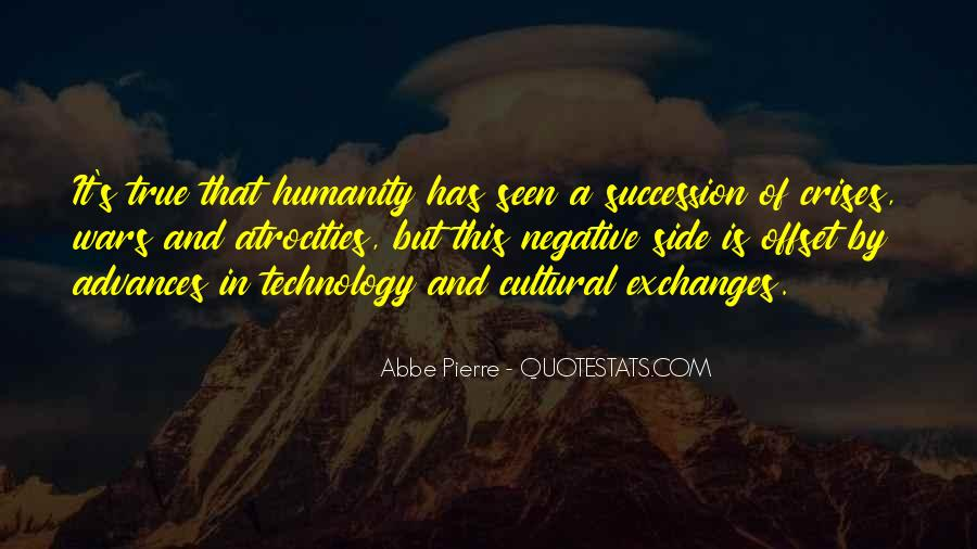 Humanity At Its Best Quotes #4591