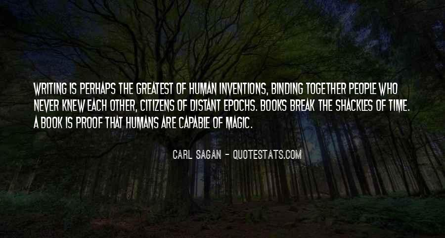 Humanity At Its Best Quotes #5224