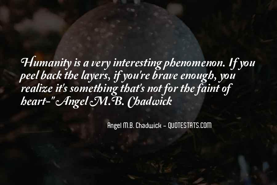 Humanity At Its Best Quotes #8036