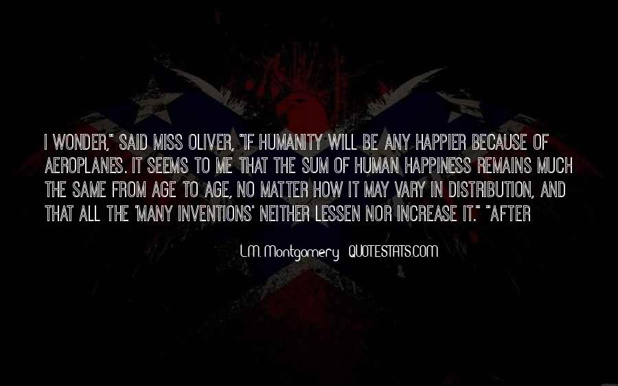 Humanity At Its Best Quotes #8586