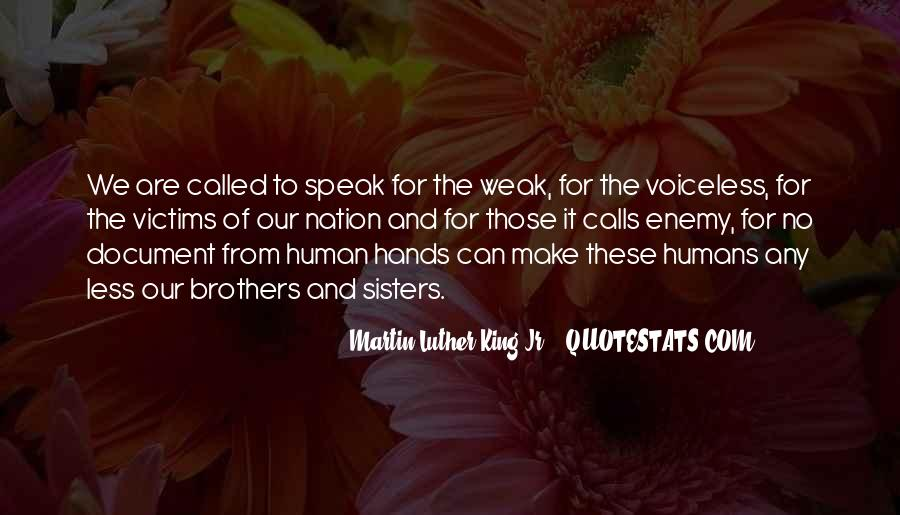 Humans Are Weak Quotes #681150