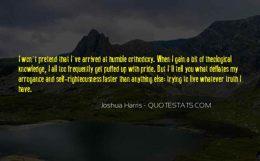 Humble Orthodoxy Quotes #1347419