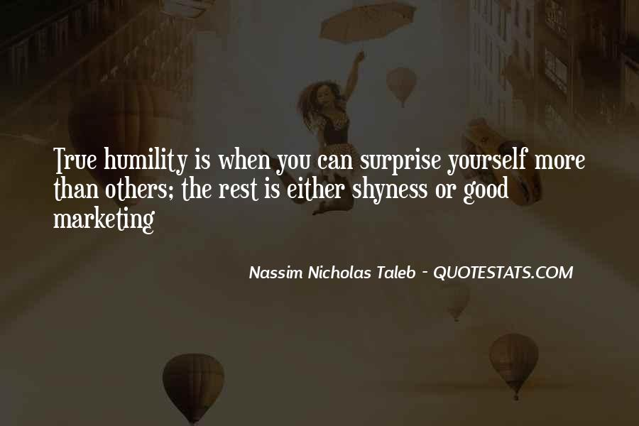 Humility And Humbleness Quotes #214963