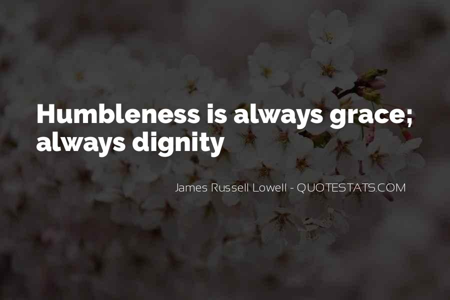 Humility And Humbleness Quotes #803931