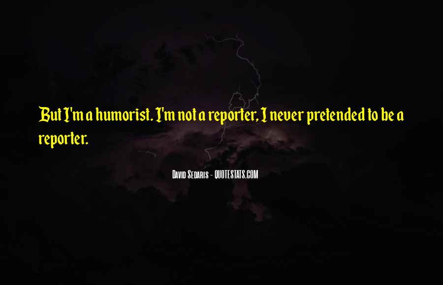 Humorist Quotes #1088116