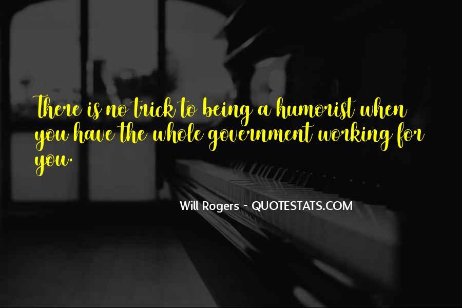 Humorist Quotes #1247436
