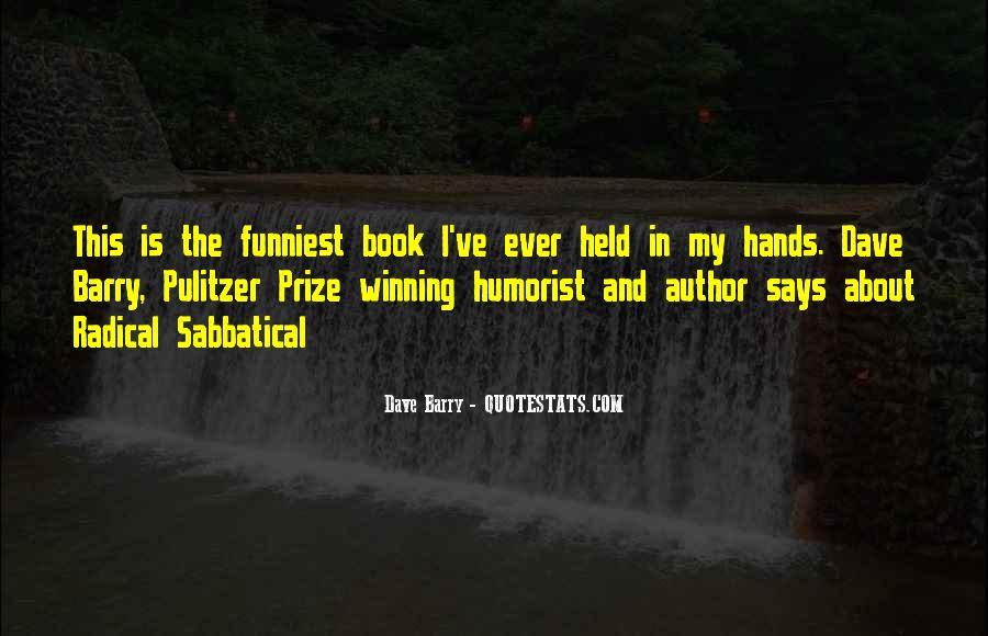 Humorist Quotes #126376