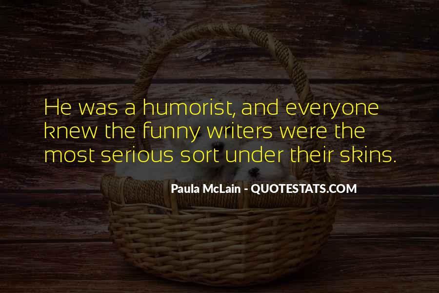 Humorist Quotes #1388314